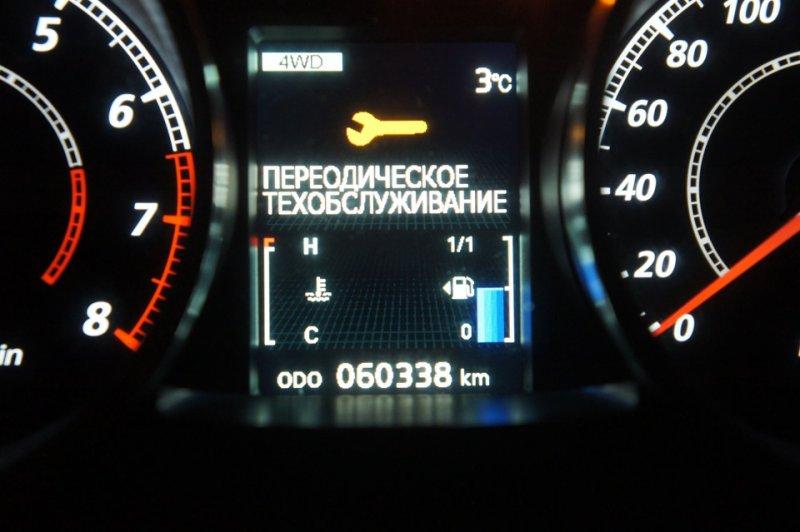 Как самостоятельно сбросить и изменить сервисный интервал на автомобиле Mitsubishi Lancer X
