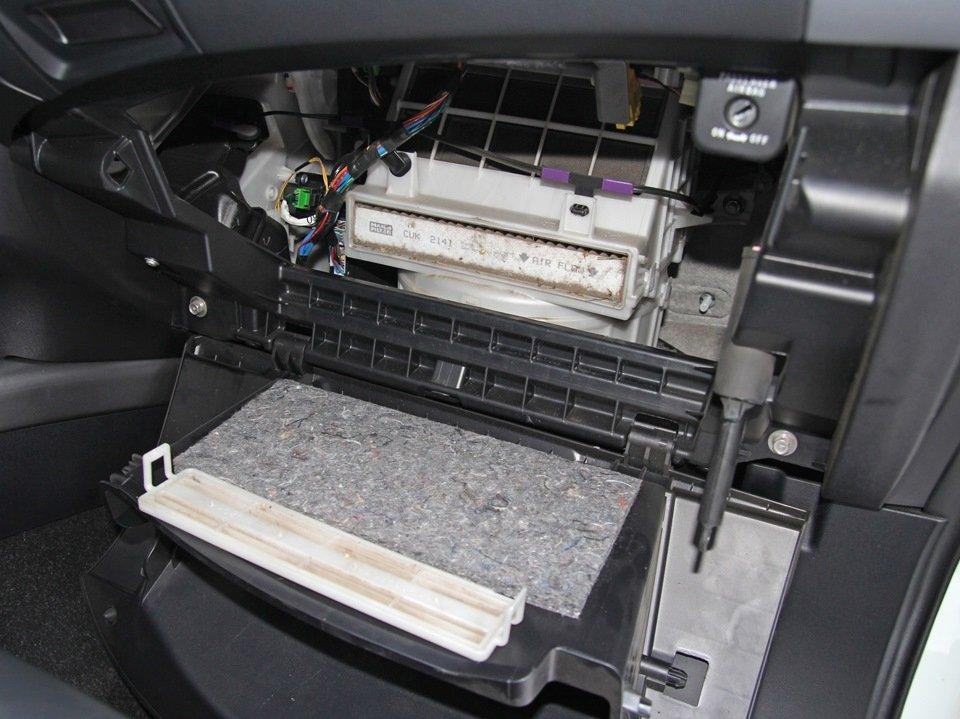 Почему может плохо работать печка на Mitsubishi Outlander и что нужно делать