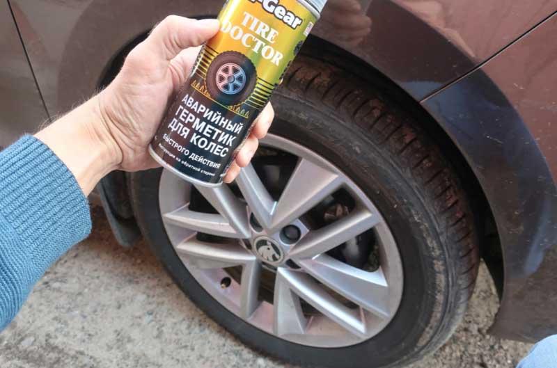 Как быть с саморезом в колесе — хитрости ремонта на дороге