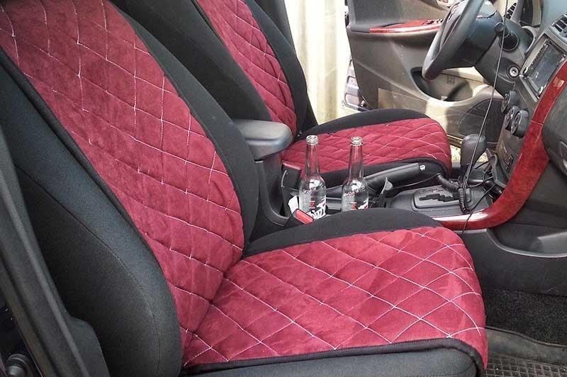 Как самостоятельно перетянуть сиденья в машине