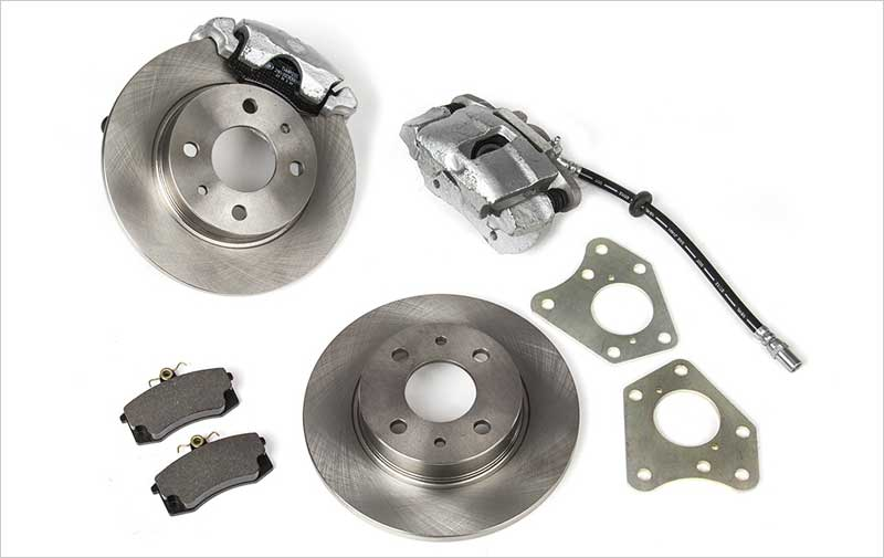 Правильная замена барабанных тормозов на дисковые