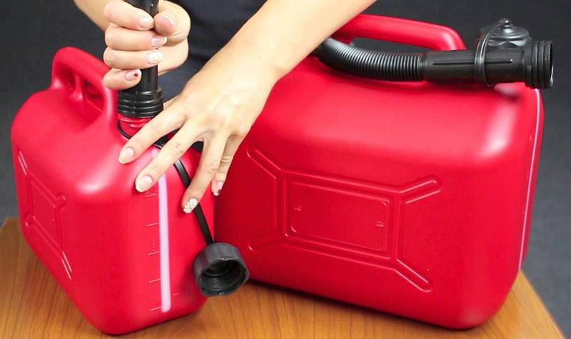 Правильное хранение бензина в доме
