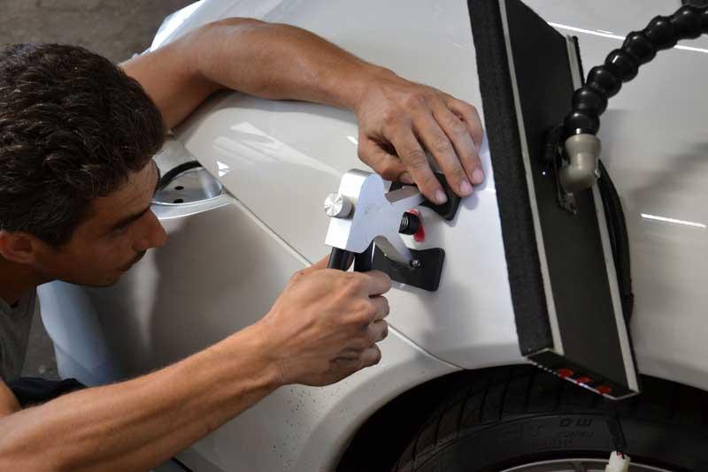 Как самостоятельно рихтовать вмятины на кузове автомобиля