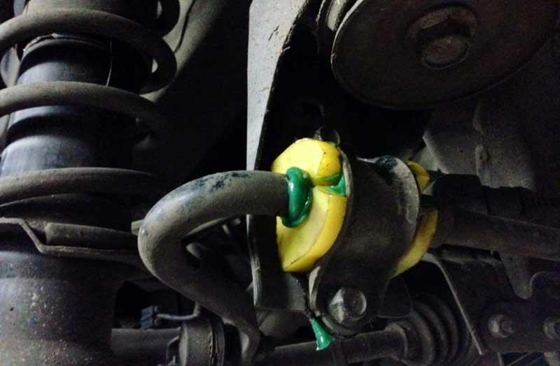Назначение, признаки износа и замена втулки стабилизатора на автомобилях