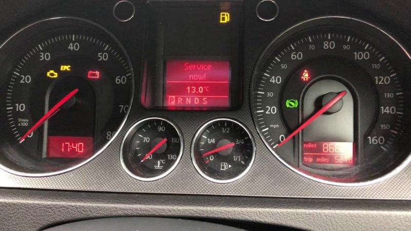 Как самостоятельно сбросить сервисный интервал на автомобилях Volkswagen Passat