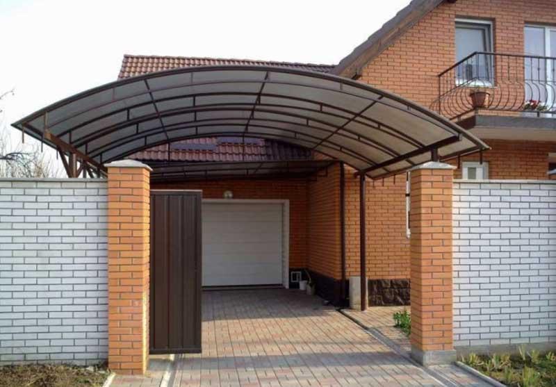 Где лучше оставлять машину в частном доме: гараж или навес