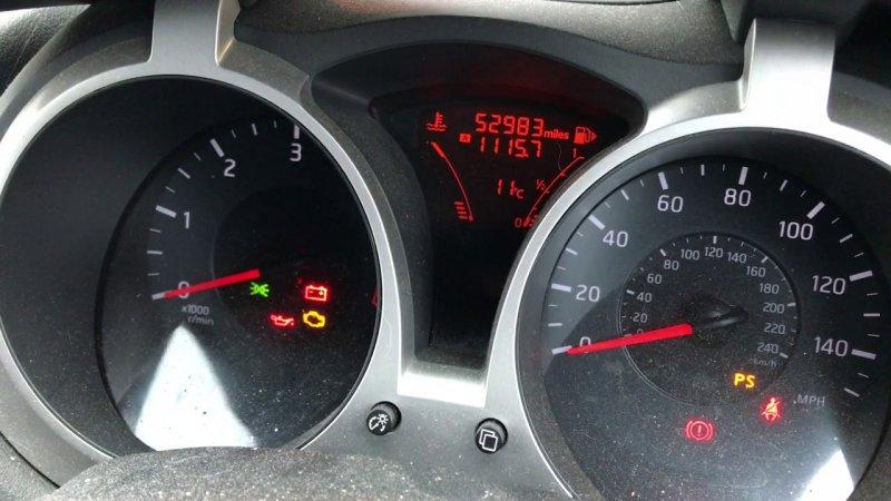 Как сбросить сервисный интервал замены масла в Nissan Juke