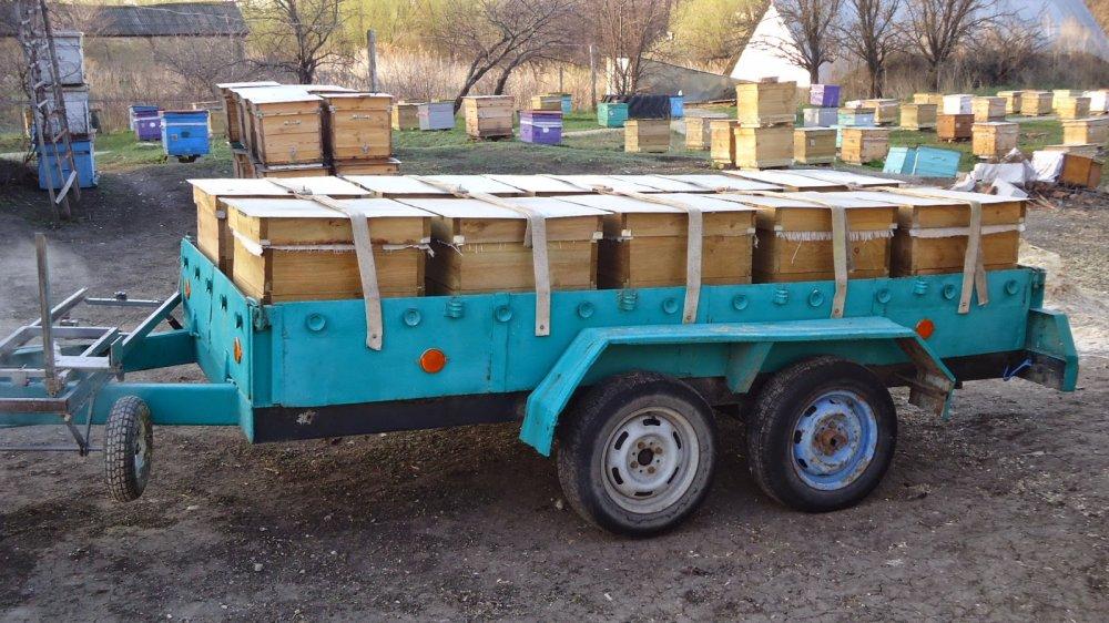Делаем прицеп для перевозки пчёл своими руками