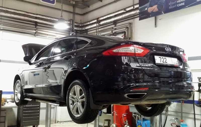 Когда и как проводится техобслуживание автомобилей Ford Mondeo