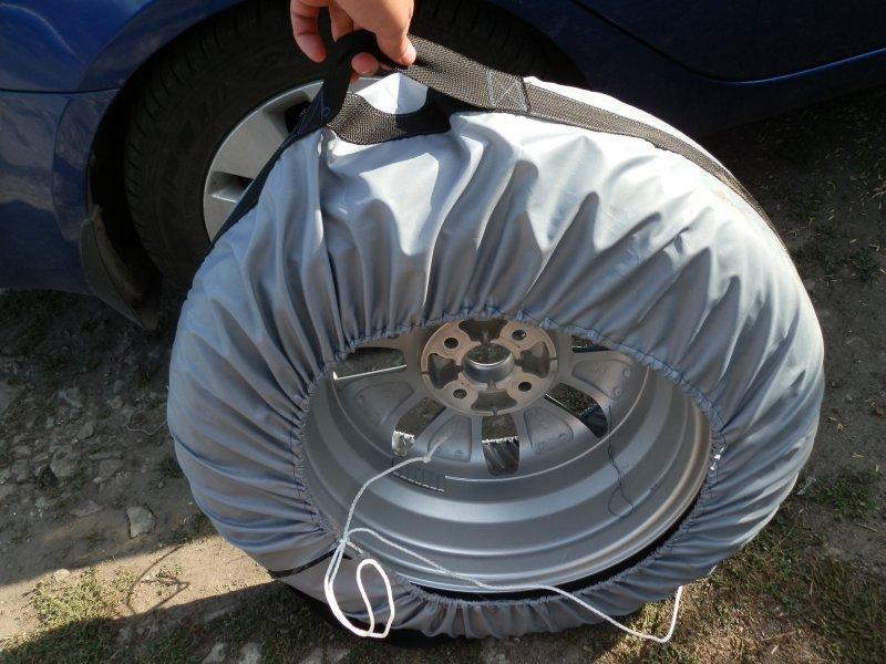 Зачем нужны чехлы для колёс и как их сделать своими руками