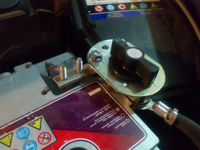 Рекомендации и инструкции по установке выключателя массы аккумулятора на автомобиле