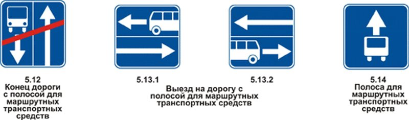 Выделенная автобусная полоса — каким категориям транспорта можно на неё заезжать