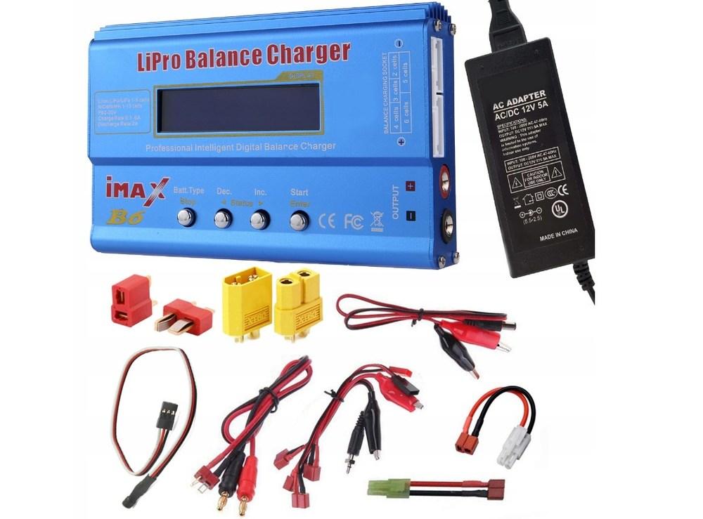Как универсальное устройство IMAX B6 работает для зарядки автомобильного аккумулятора