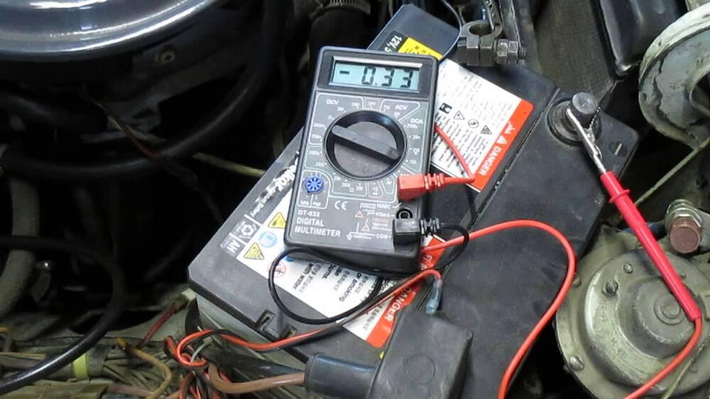 Способы проверки аккумулятора на ампераж