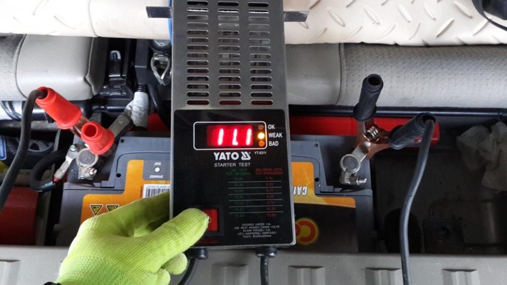 Как диагностировать аккумуляторную батарею нагрузочной вилкой