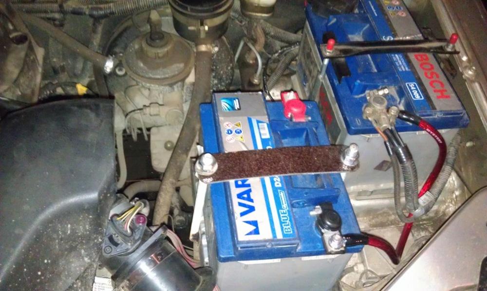 Самостоятельная установка и подключение второго аккумулятора в легковой автомобиль